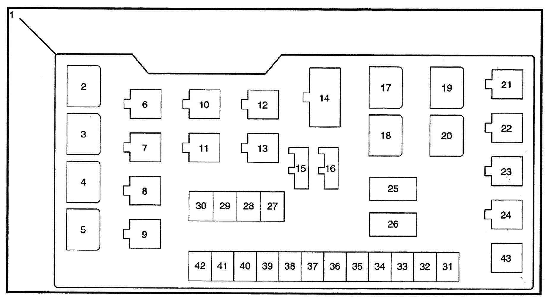 isuzu trooper (2000 - 2001) - fuse box diagram - auto genius 94 trooper fuse box diagram