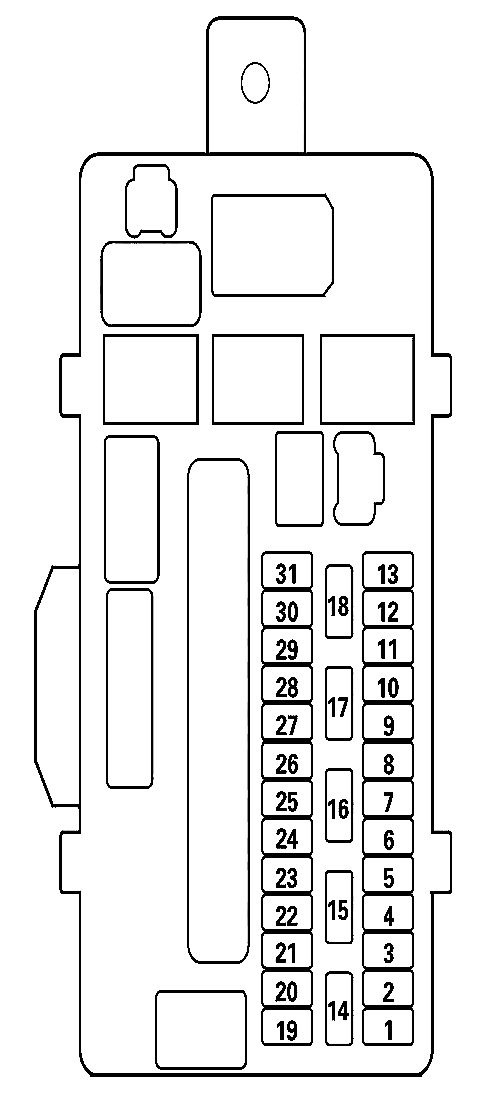 acura tl 2013 2014 fuse box diagram auto genius. Black Bedroom Furniture Sets. Home Design Ideas