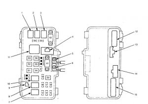 acura tl 2000 2001 fuse box diagram auto genius. Black Bedroom Furniture Sets. Home Design Ideas