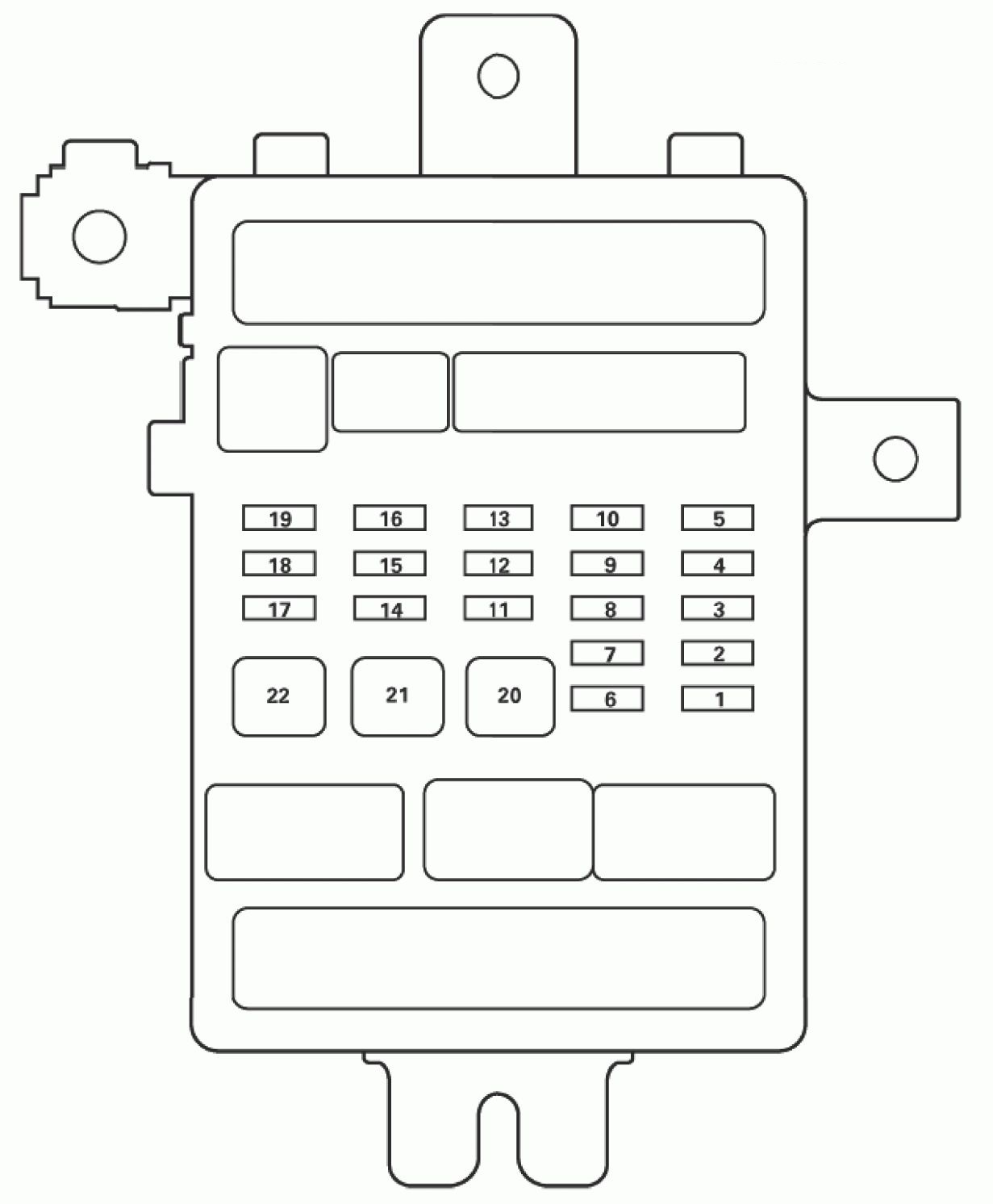 Acura Tl  2011 - 2012   U2013 Fuse Box Diagram