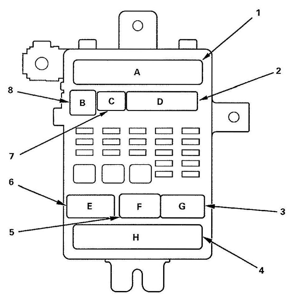 Acura Tl  2009   U2013 Fuse Box Diagram