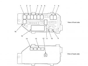 2010 acura tl fuse box 2004 acura tl fuse box diagram