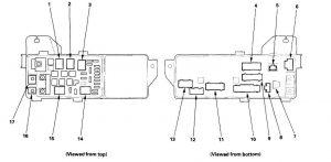 Acura TL (2006) - fuse box diagram - Auto Genius