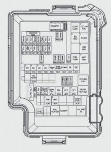 Hyundai Elantra - fuse box diagram - engine compartment