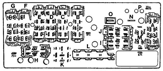 audi 100 (1992) - fuse box diagram - auto genius  auto genius