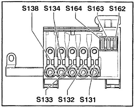 Audi TT (2001) - fuse box diagram - Auto Genius | Audi Tt Mk1 Fuse Box Layout |  | Auto Genius
