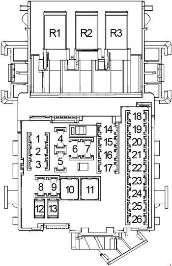 buick lacrosse 2010 2016 fuse box diagram auto genius. Black Bedroom Furniture Sets. Home Design Ideas