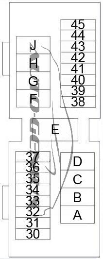 [QMVU_8575]  Nissan Altima (1998 - 2001) - fuse box diagram - Auto Genius | 98 Altima Fuse Diagram |  | Auto Genius
