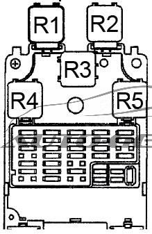 [DIAGRAM_4FR]  Nissan Altima (1998 - 2001) - fuse box diagram - Auto Genius | 98 Altima Fuse Diagram |  | Auto Genius