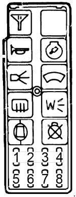 1985 chevy fuse box diagram cadillac seville  1980 1985  fuse box diagram auto genius  cadillac seville  1980 1985  fuse