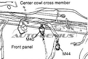 Hyundai Porter (AU) - fuse box diagram - rear fog lamp relay M40