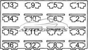 Plymouth Gran Fury - fuse box diagram