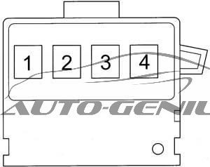 Toyota Echo Verso - fuse box diagram - fusible link block