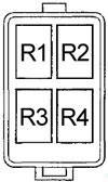 Honda Insight 2000 2006 Fuse Box Diagram Auto Genius