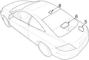 Honda Accord - fuse box diagram - coupe