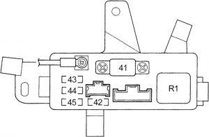 Honda Accord - fuse box diagram - engine compartment fuse box no. 2