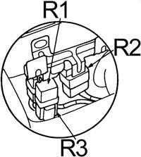 Honda Accord - fuse box diagram - engine compartment relay holder no. 1