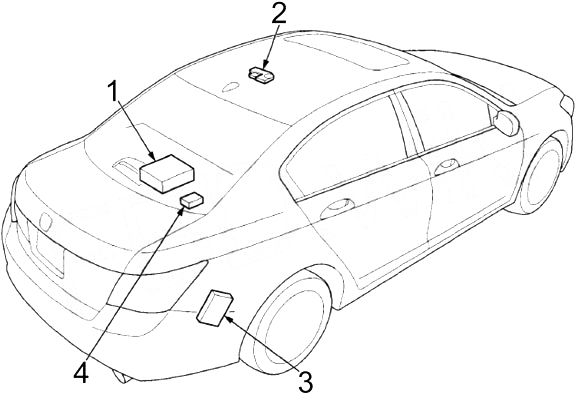 Honda Accord 2008 2012 Fuse Box Diagram Auto Genius