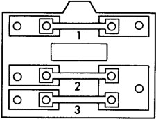 Honda CR-X - fuse box diagram - engine compartment