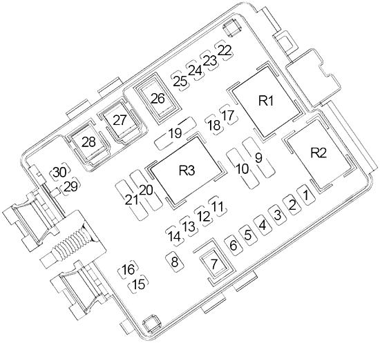 chevrolet camaro (2010 - 2015) - fuse box diagram - auto genius  auto genius