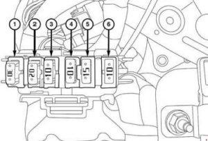 Dodge Ram 1500 - fuse box diagram - additional box