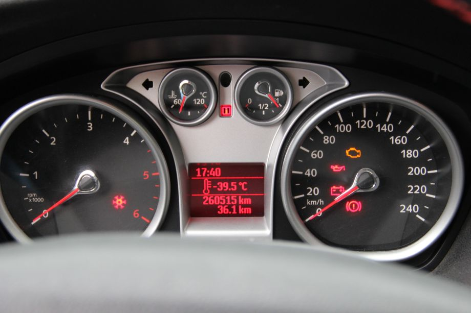 Ford Focus Mk Gauges After Outdoor Temperature Sensor Installation