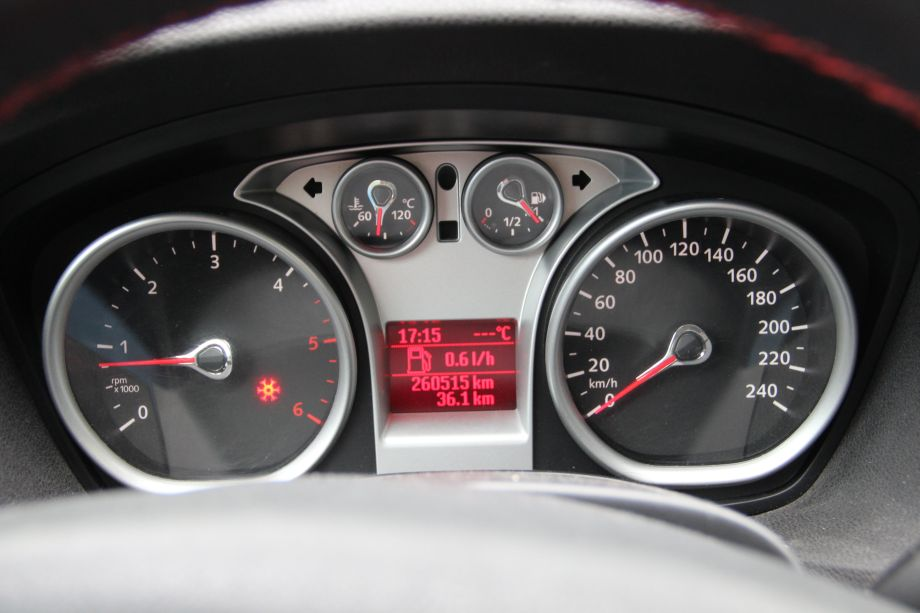 Ford Focus Mk Gauges Without Outdoor Temp Sensor