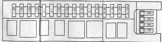 mercedes c class w202 engine c240 fuse box diagram auto genius